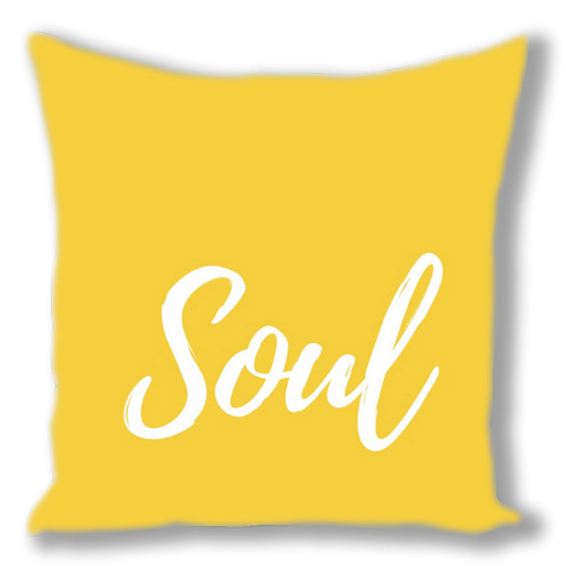 Soul ~ Throw 16 x 16 Pillow