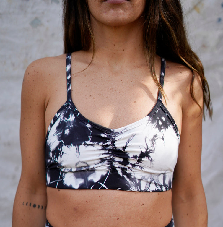 Marble Tie Dye Bra || By Electric & Rose