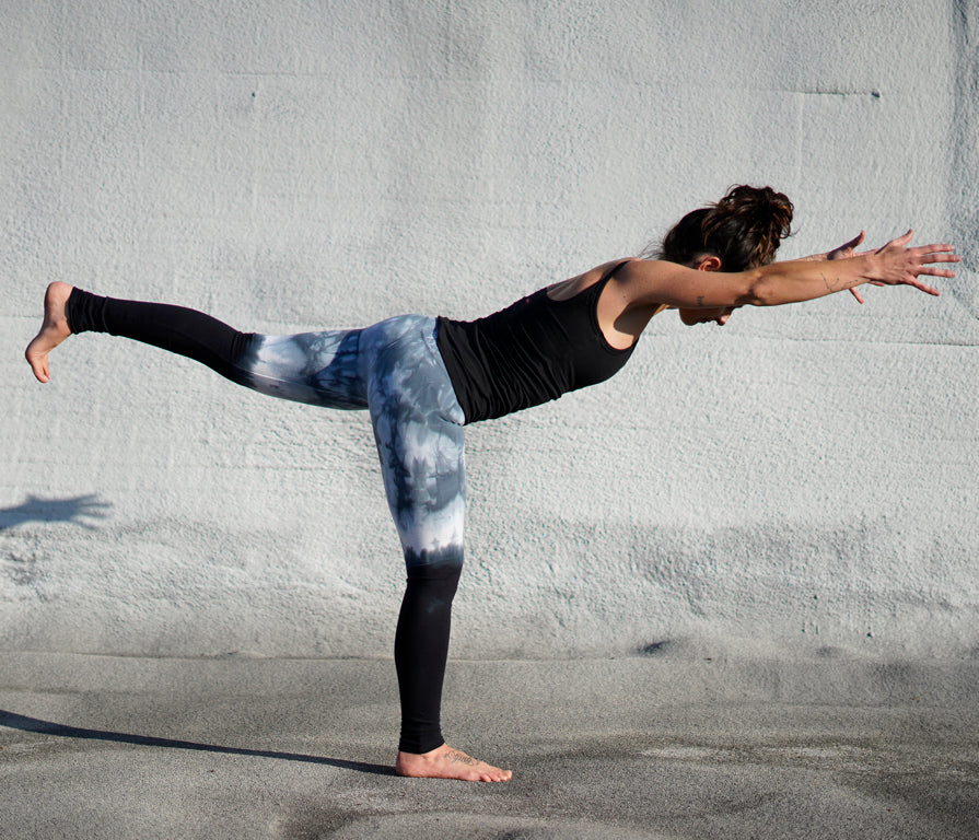 Crystal Dip Dye Legging || By Hard Tail Forever