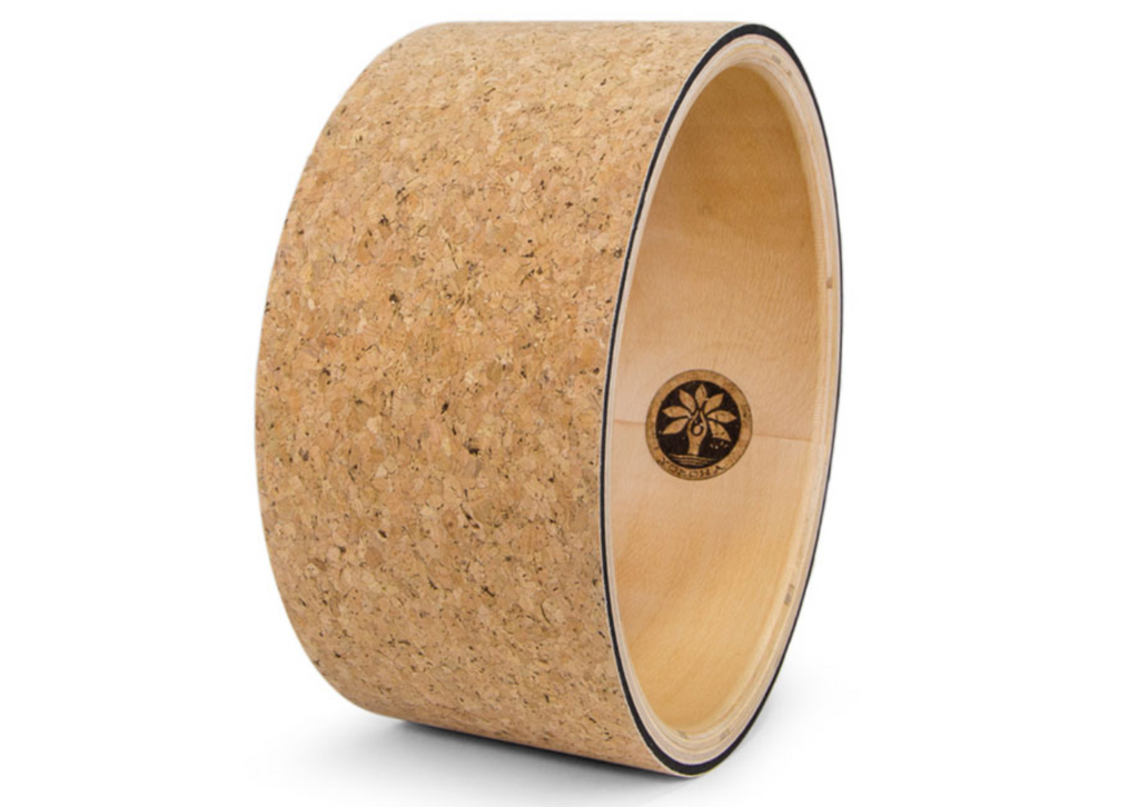 Cork Yoga Wheel || By YOLOHA