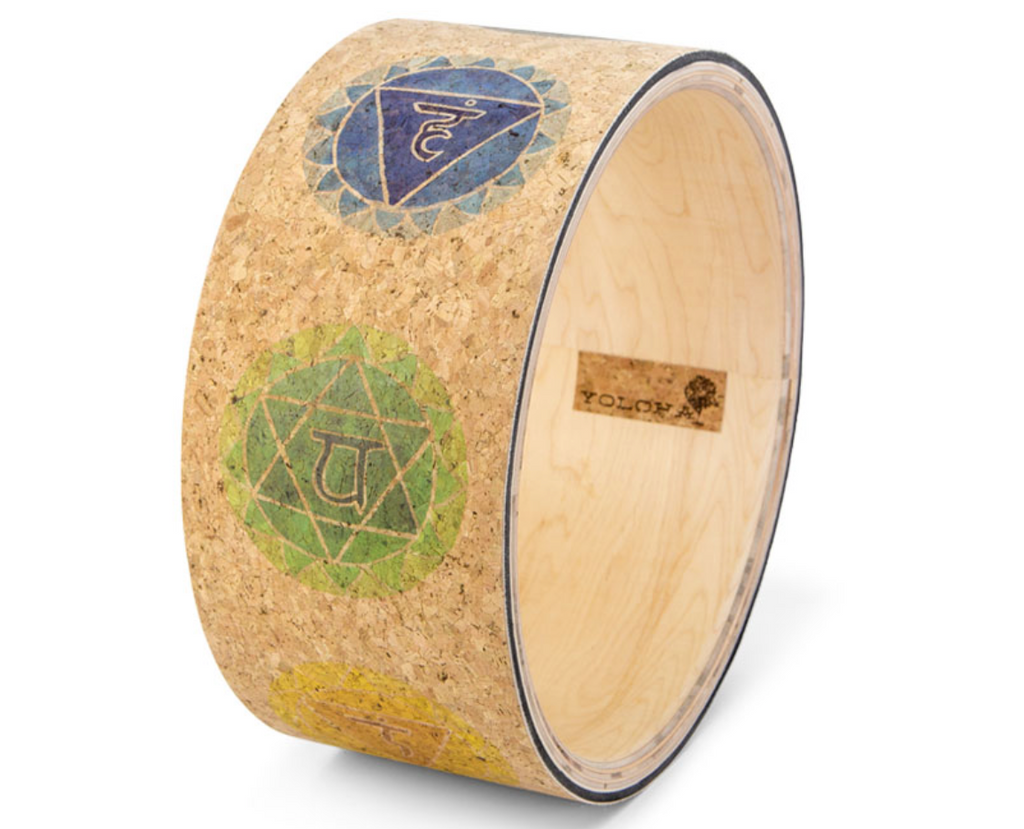 Charkas Cork Yoga Wheel || By YOLOHA