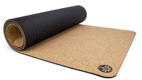 "72"" Orginal Air Cork Yoga Mat 