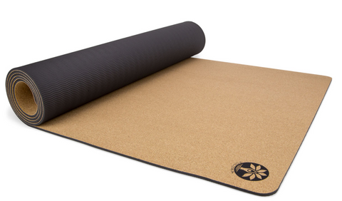 "72"" Aura Cork Yoga Mat 