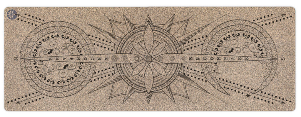 "72"" Encompass Unity Cork Yoga Mat 