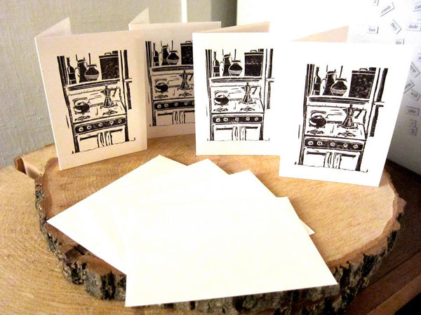 Kitchen Stove Cards