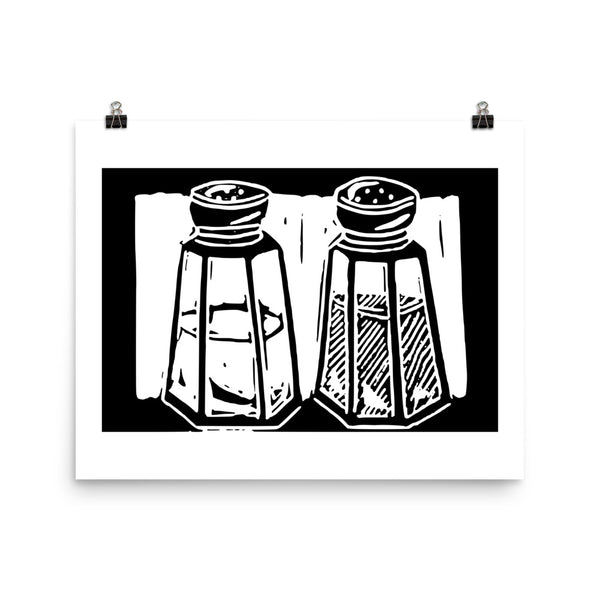 Salt & Pepper Linocuts
