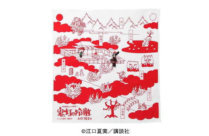 Handkerchief, Hozuki in the picture of Hell