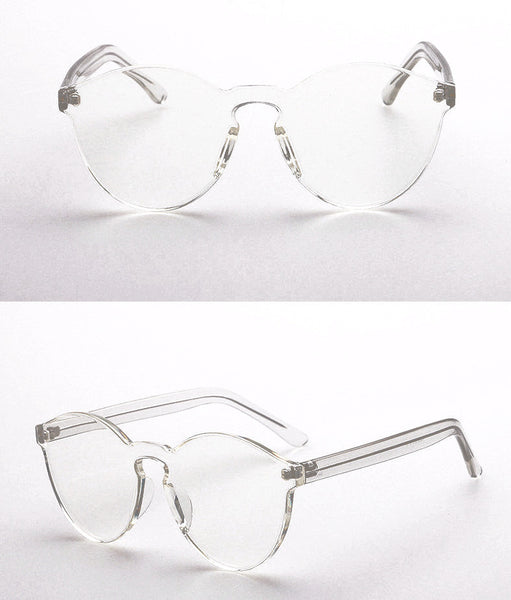Colorist Sunglasses - Clear