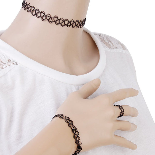 Basic Tattoo Choker Set