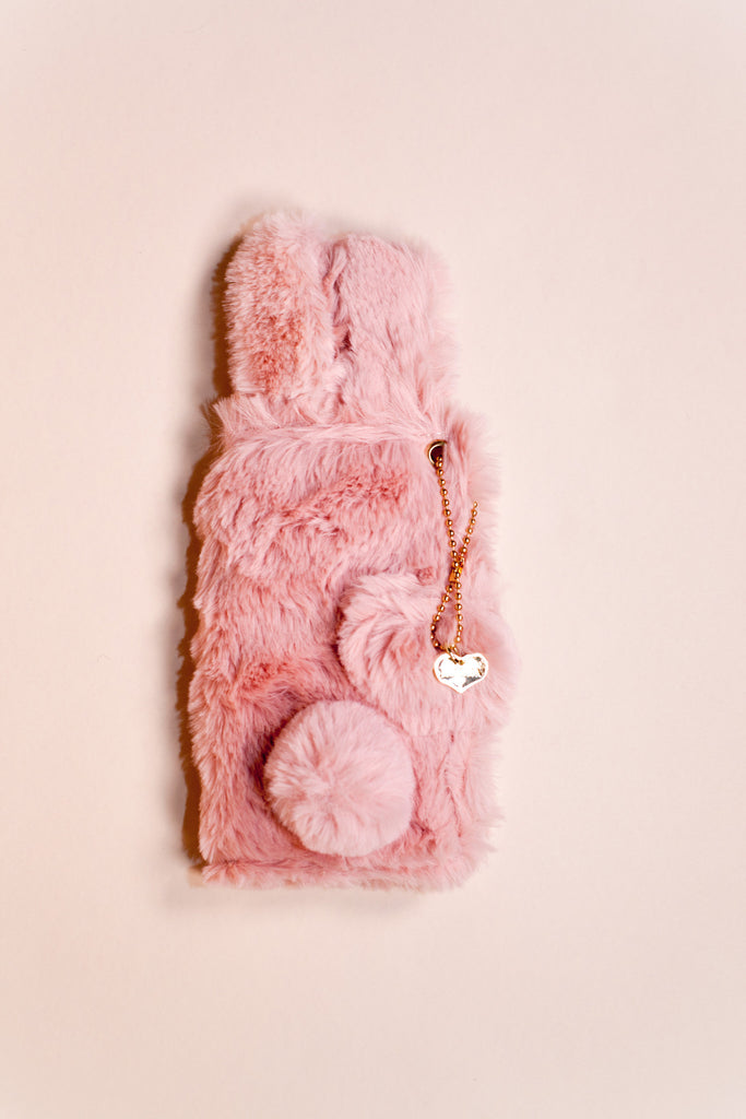 Fluffy Bunny iPhone Case Clutch