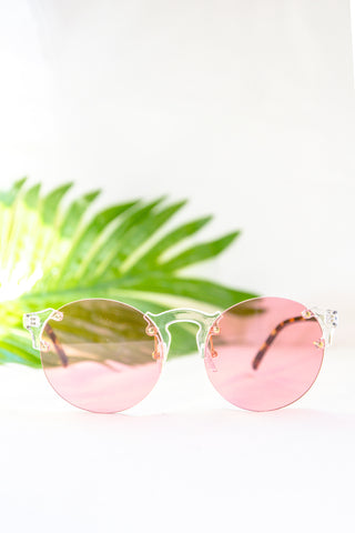 Retro Colorist Sunglasses - Pink