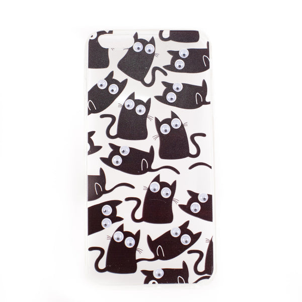 Black Kitty iPhone Case