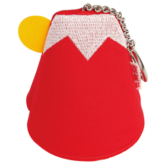 Key Chain Case Mount Fuji - Red
