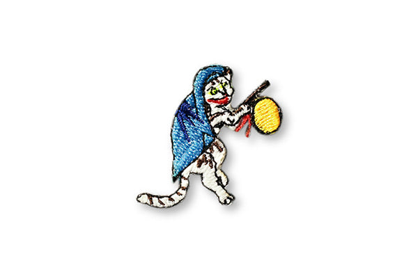 Glow in Dark Patch: Bakeneko the goblin cat 2