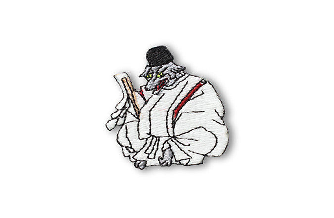 Glow in Dark Patch: Inugami the evil dog spirit