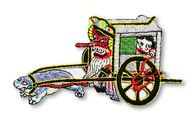 Glow in Dark Patch: Oboroguruma the oxen cart