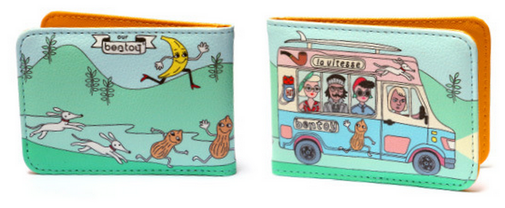 School Bus Card Holder