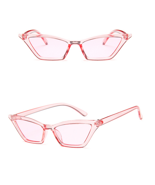 Colorist Cat-eye Sunglasses - Pink