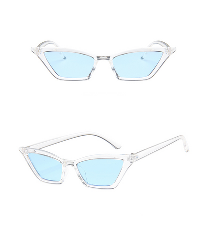 Colorist Cat-eye Sunglasses - Blue