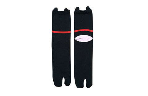 "Tabi Socks ""Kuro"" Black Cat"
