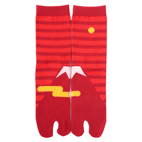 Tabi Socks Red Fuji