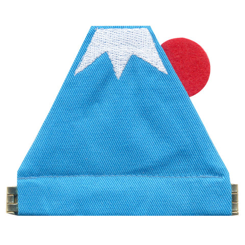 Coin Case Mount Fuji - Blue