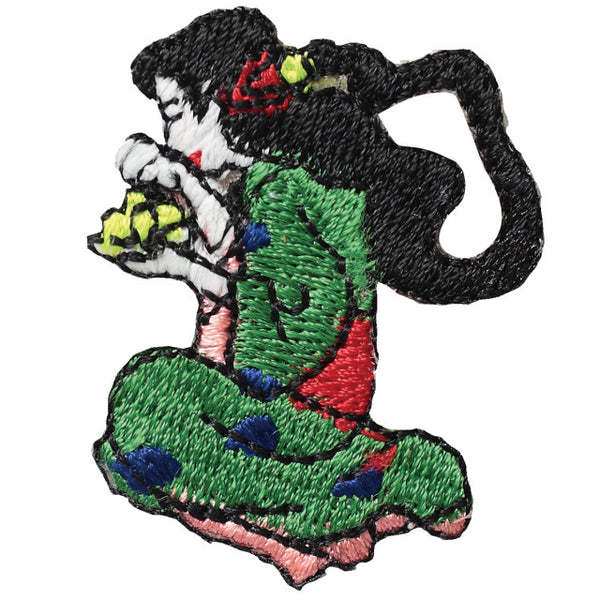 Glow in Dark Patch: Futakuchi-onna the woman with two mouths