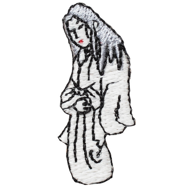Glow in Dark Patch: Yuki-onna the Snow Woman
