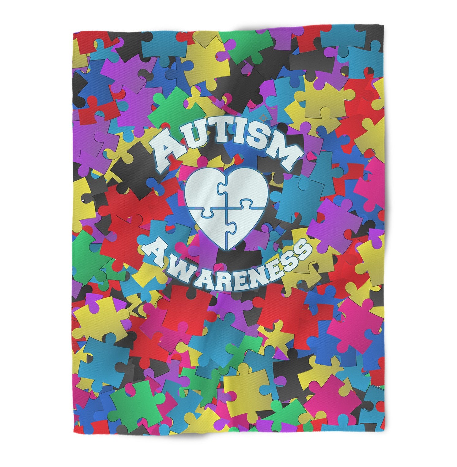 Autism Awareness Blanket