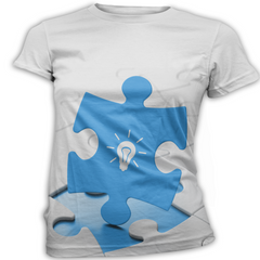 Blue Light Autism Awareness T-Shirt