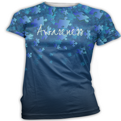 Blue Autism Awareness T-Shirt