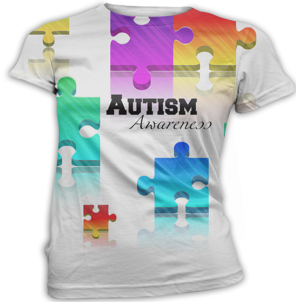 Colorful Autism Awareness T-Shirt