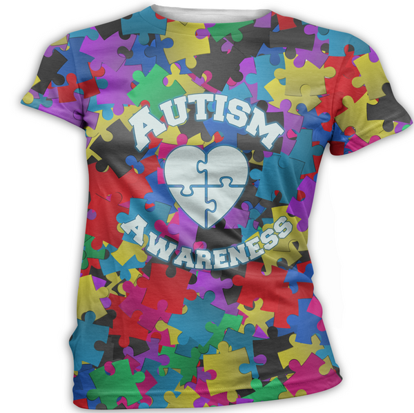 Primary Color Autism Awareness T-Shirt