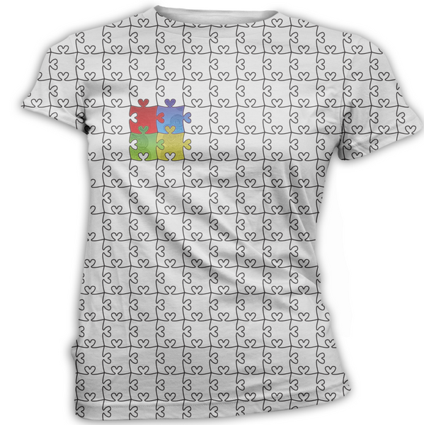 Heart Puzzle Autism Awareness T-Shirt