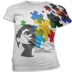 Male Autism Awareness T-Shirt