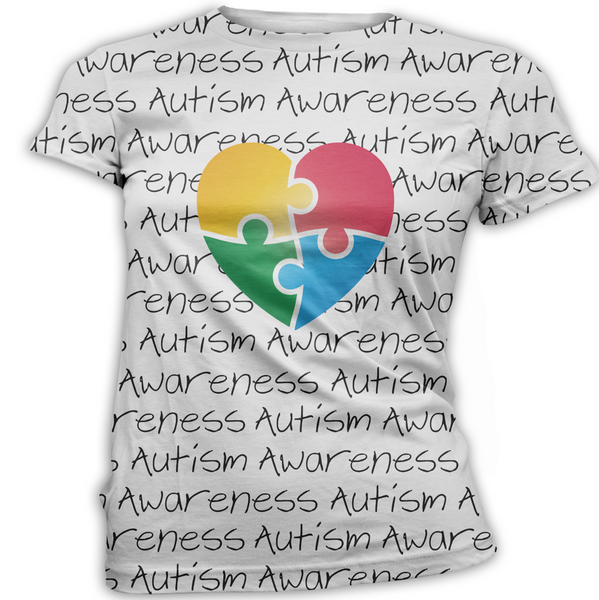 Heart Autism Awareness T-Shirt
