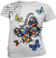 Butterfly Autism Awareness T-Shirt