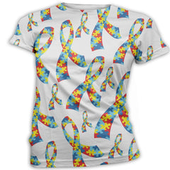 Autism Ribbon Autism Awareness T-Shirt