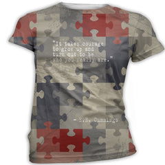 EE Cummings Quote Autism Awareness T-Shirt