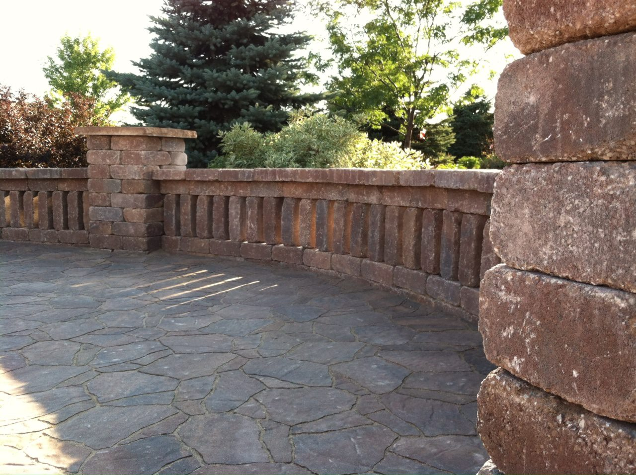 Walls and Firepits