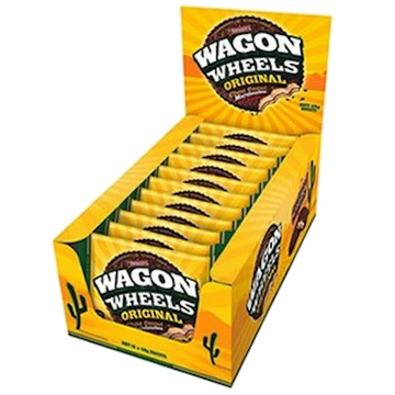 Arnott's Wagon Wheel 16 pack of 48grams (almost king sized)