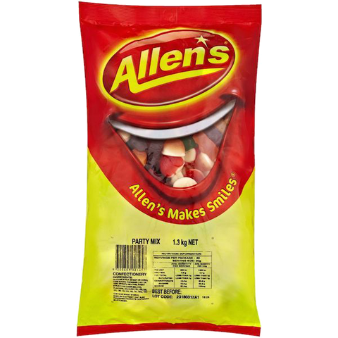 Allen's Party Mix 1kg bag
