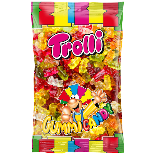 Trolli Gummy Candy Bears 2kg Gummy Fat Boy Food