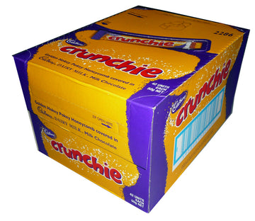 Cadbury Crunchie 42 units each 50g