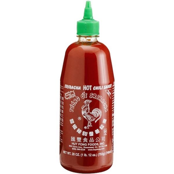 Huy Fong Sriracha Hot Chilli Rooster Sauce 740ml