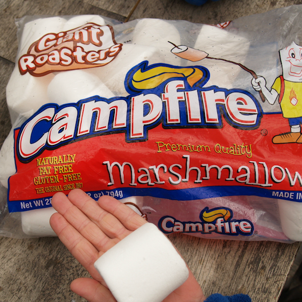 Campfire Giant Roasters Marshmallows for big smores 0.8kg bag
