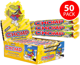 Cadbury Chomp chocolate wafer bar bulk 50 pack retail box