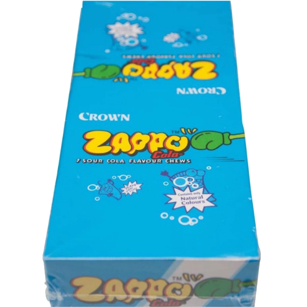 King Zappo Cola flavoured chews 60 pack