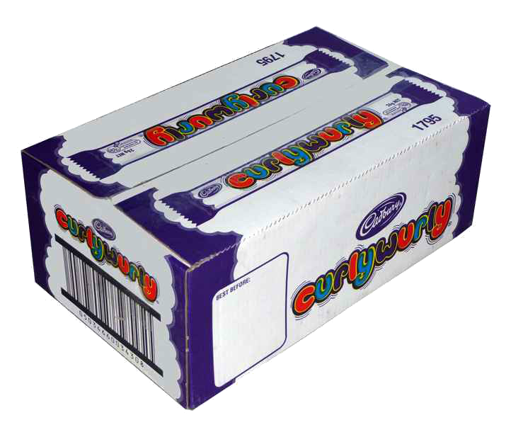 Cadbury Curly Wurly 48pack retail box