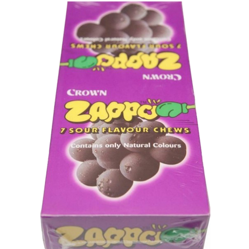 King Zappo Grape flavoured chews 60 pack